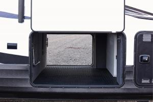 Side Storage Compartment with Door Open