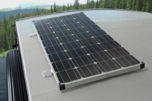 Off Grid Solar Pkg - 1 or 2  160 Watt Panels (All Models CS, TR, BS Class)
