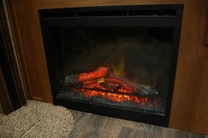 Living Room Fireplace without Rock Surround (25RDS)
