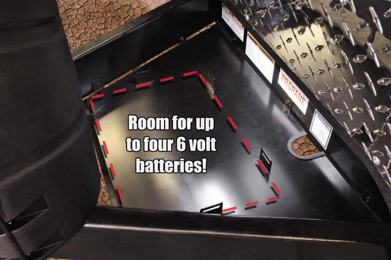 Off Grid Battery Rack (Capacity - 4 Batteries)