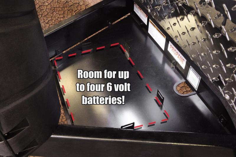 Off Grid Battery Rack (Capacity - 4 Batteries)