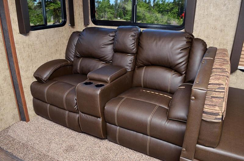 Optional Residential Sofa w Built-in Recliners