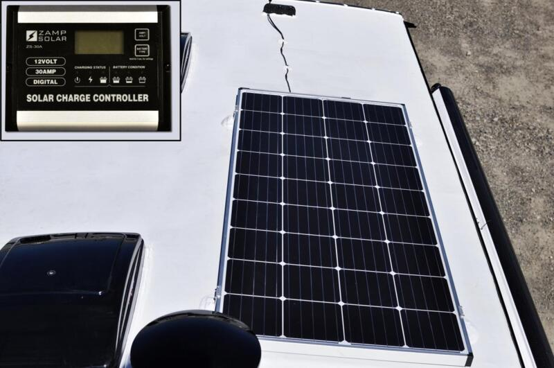 Standard 170 Watt Roof Mounted Solar Panel with 5 Stage Controller